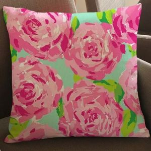 Lilly Pulitzer First Impression Print Throw Pillow